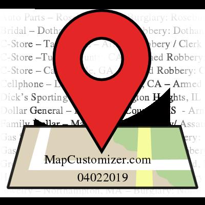 View map | Mapcustomizer com
