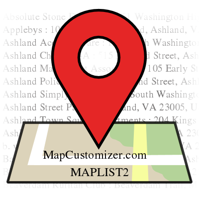 View Map Mapcustomizercom