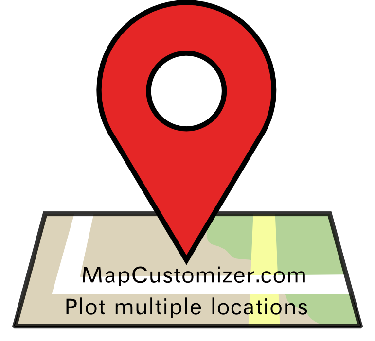 Create a map | Mapcustomizer com